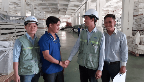 Công ty thép Hòa Phát sử dụng biến tần INVT tiết kiệm 40% điện năng tiêu thụ